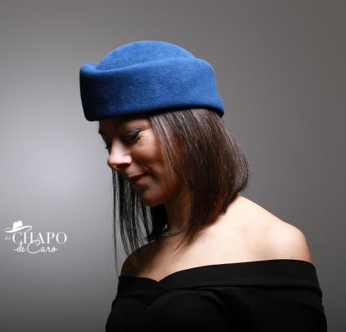 LesChapodeCaro-chapeauhiver2019-Toque Charlène D - Paris Orléans
