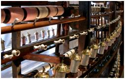 Moulinage du fils de soie ( Musée de la soie Taulignan)