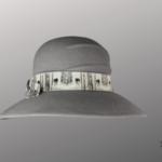 Les Chapo de Caro, Orléans Paris, chapeau de feutre Loup Gris austral face