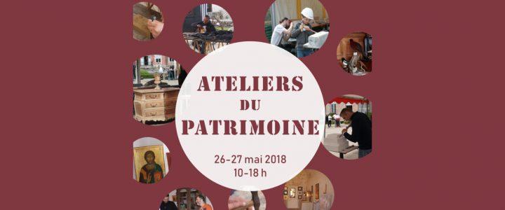 Château de la Bussière : Les Ateliers du Patrimoine 26-27 mai 2018