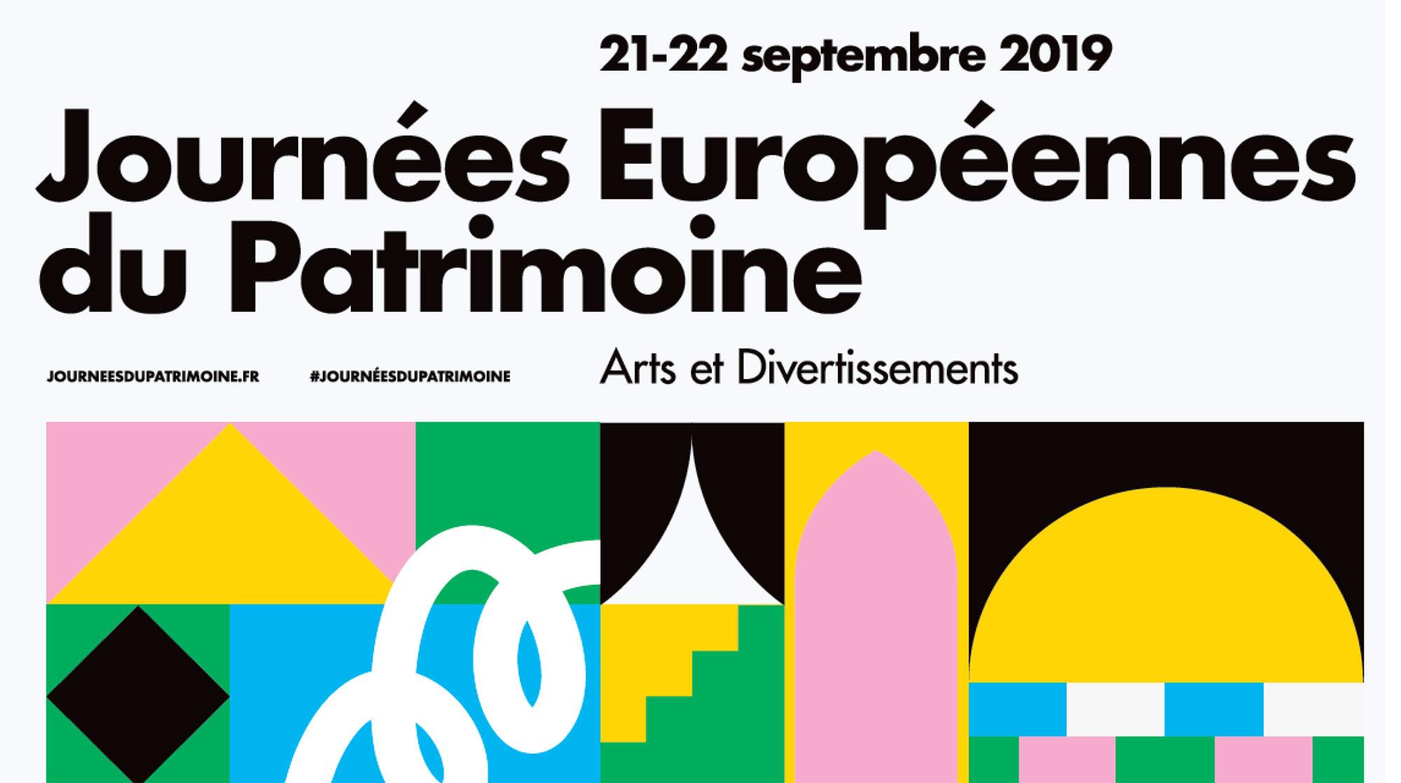 Journées Européenne du Patrimoine – 21 et 22 septembre – Blois