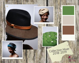 Les Chapo de Caro collection chapeau hiver 2018-2019