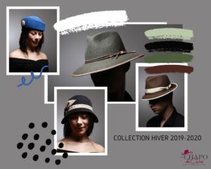 Les Chapo de Caro collection chapeaux hiver 2019-2020